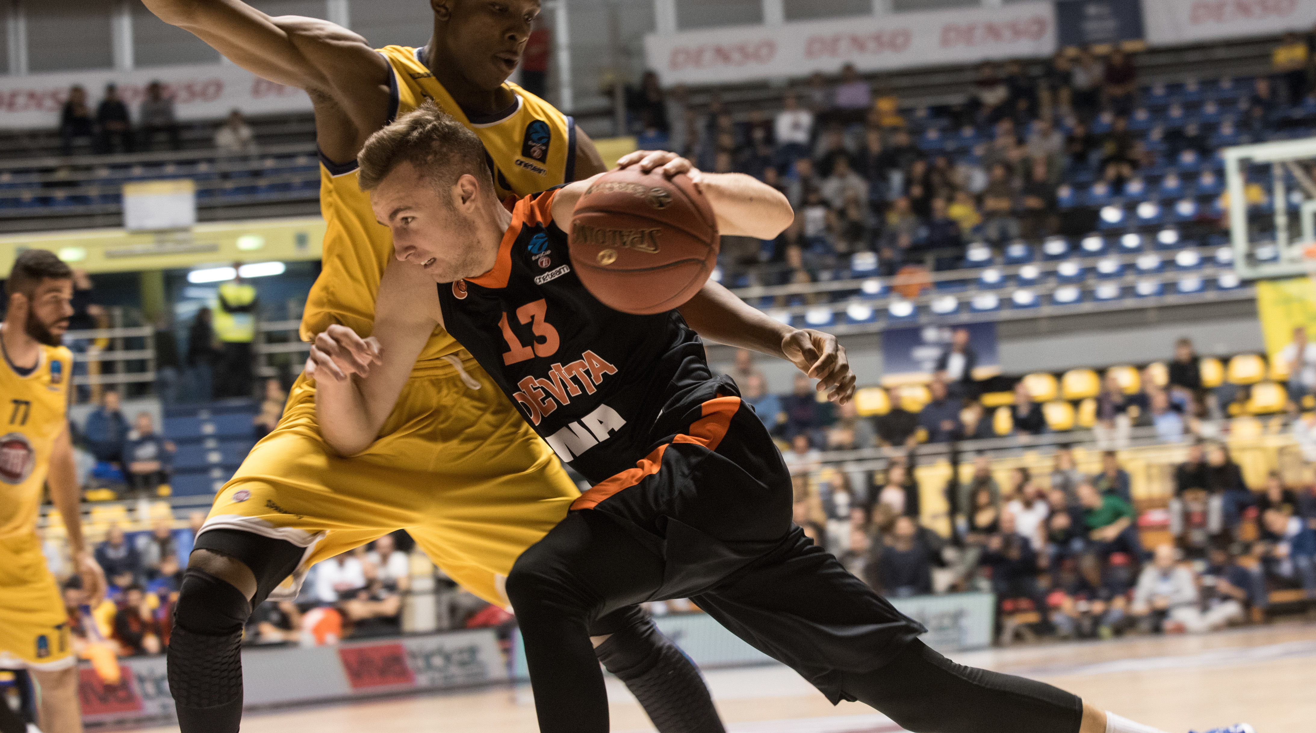 Dzanan Musa (Cedevita Zagreb) during the Eurocup basketball