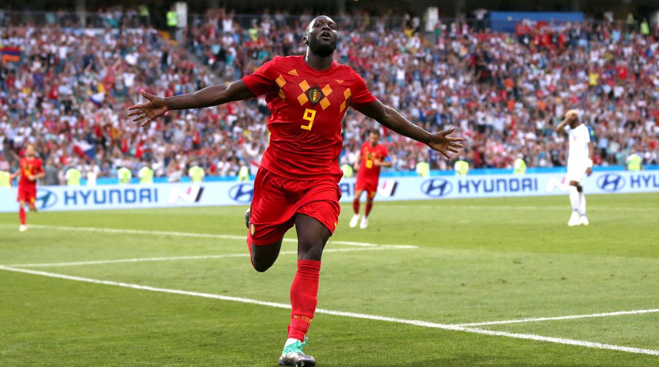 Romelu Lukaku scores twice for Belgium vs. Panama