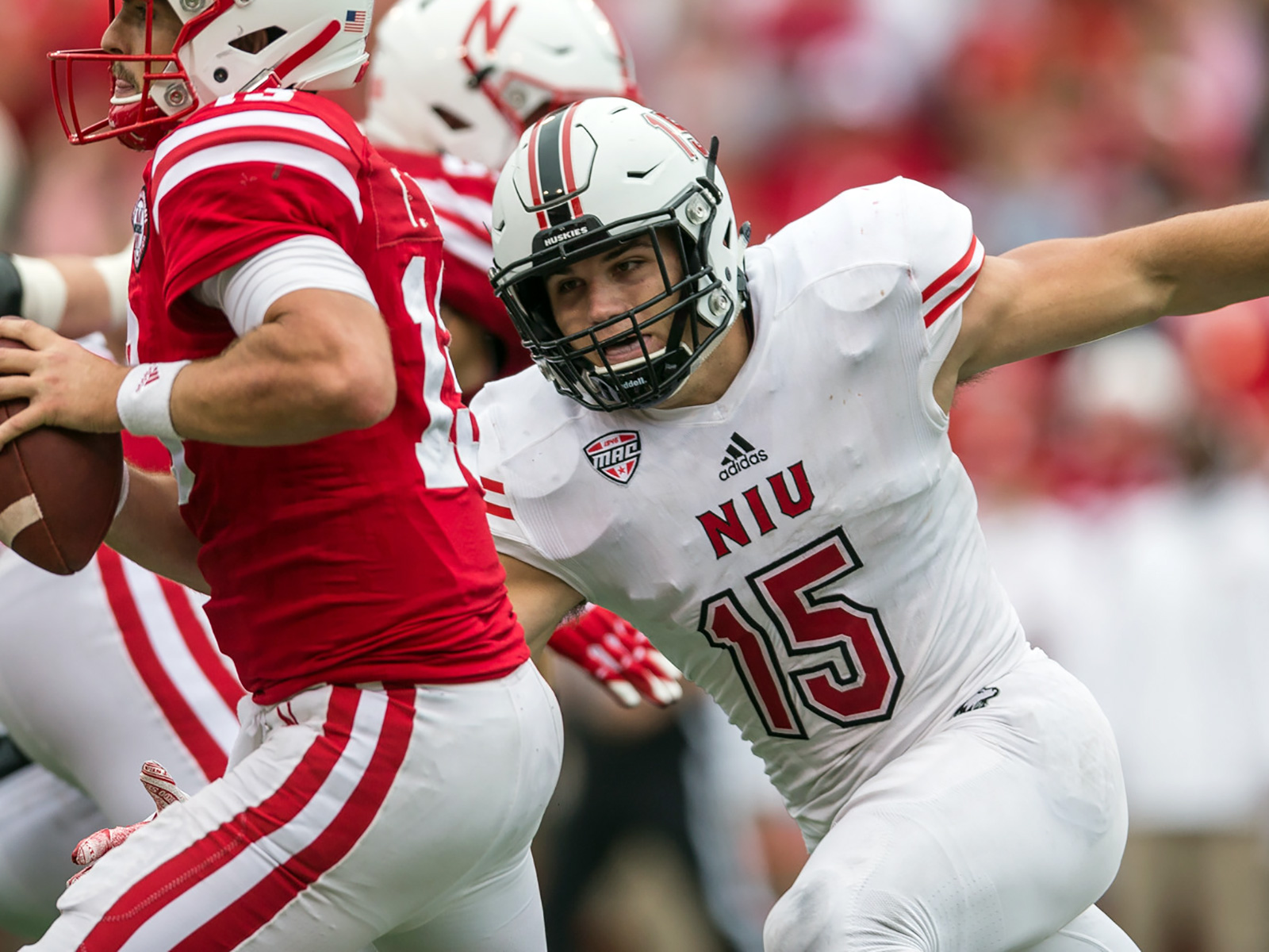 COLLEGE FOOTBALL: SEP 16 Northern Illinois at Nebraska