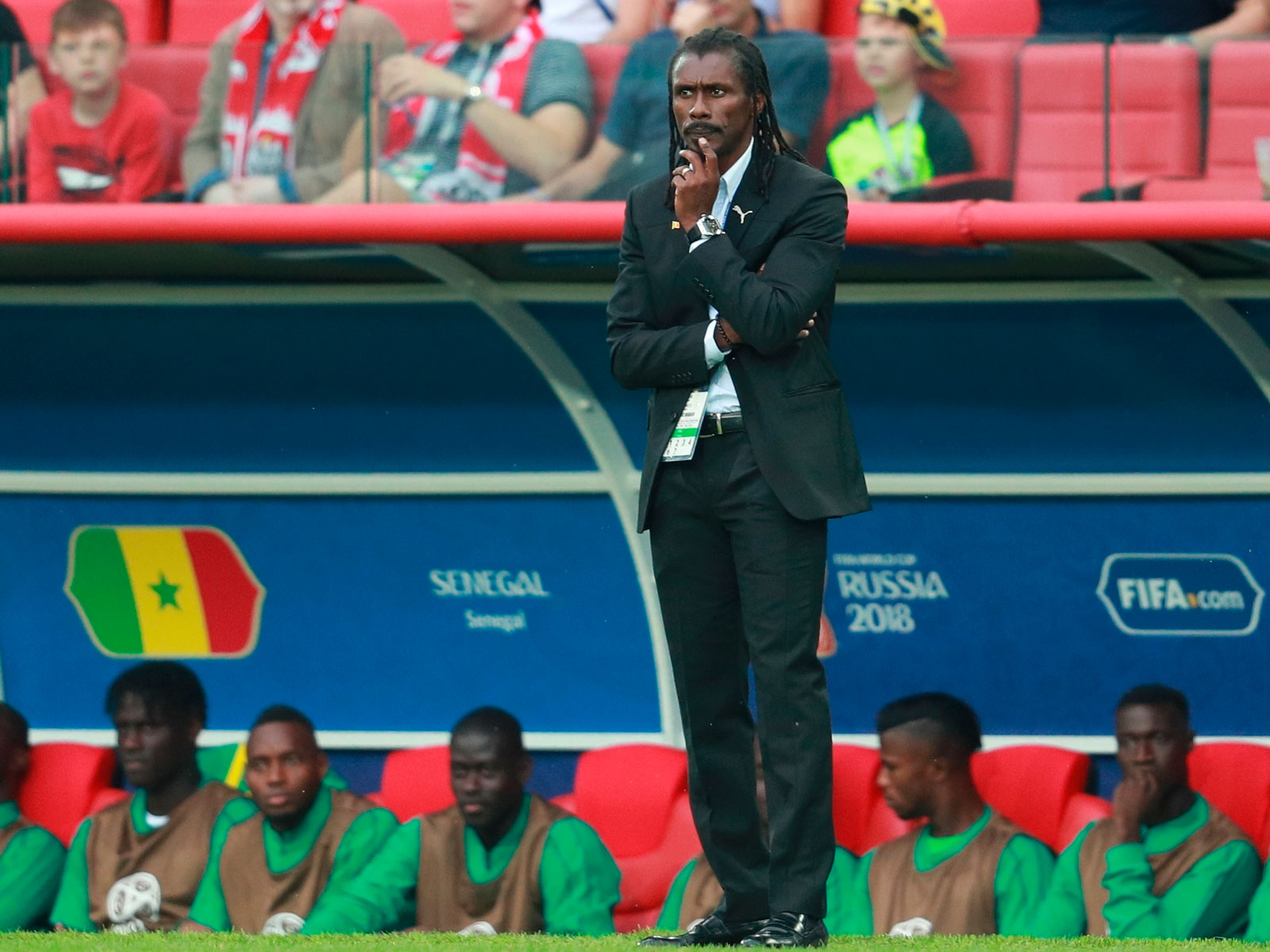 Senegal coach Aliou Cisse is hoping to guide the African nation deep into the World Cup
