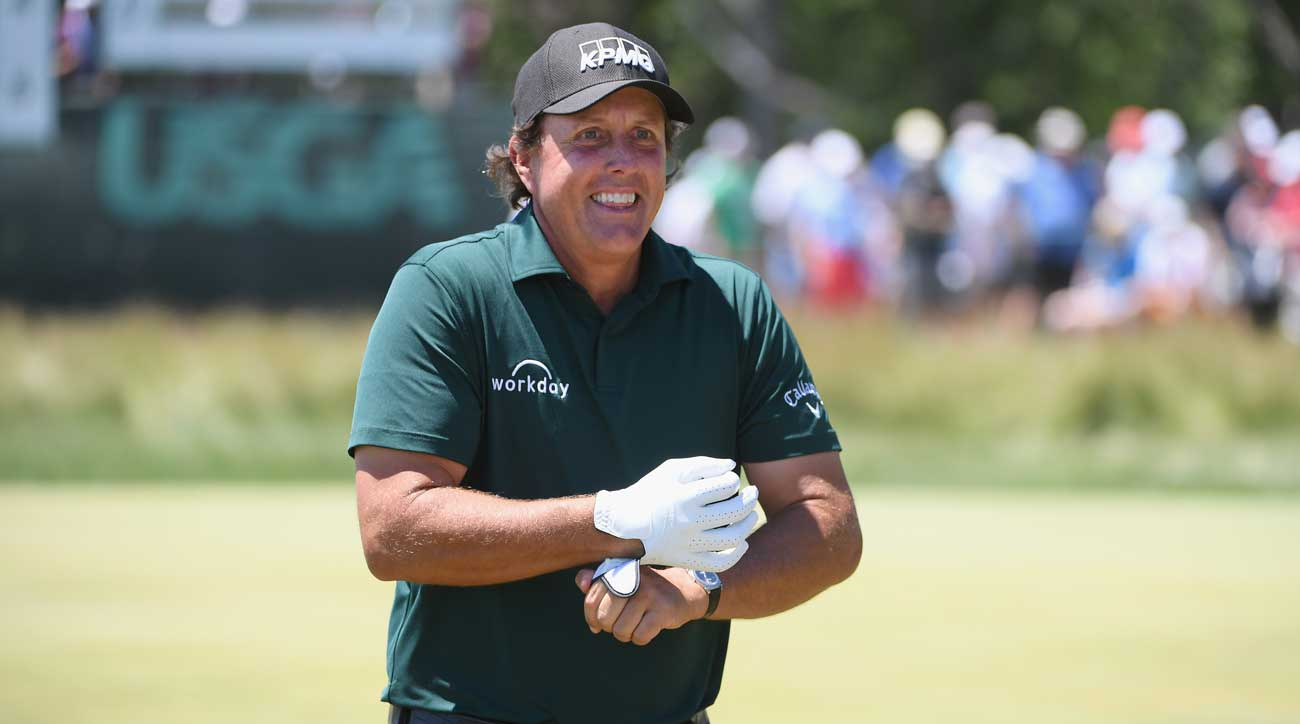 Phil Mickelson came into the week hoping to enter the USGA's record books. He may leave in its rulebooks.