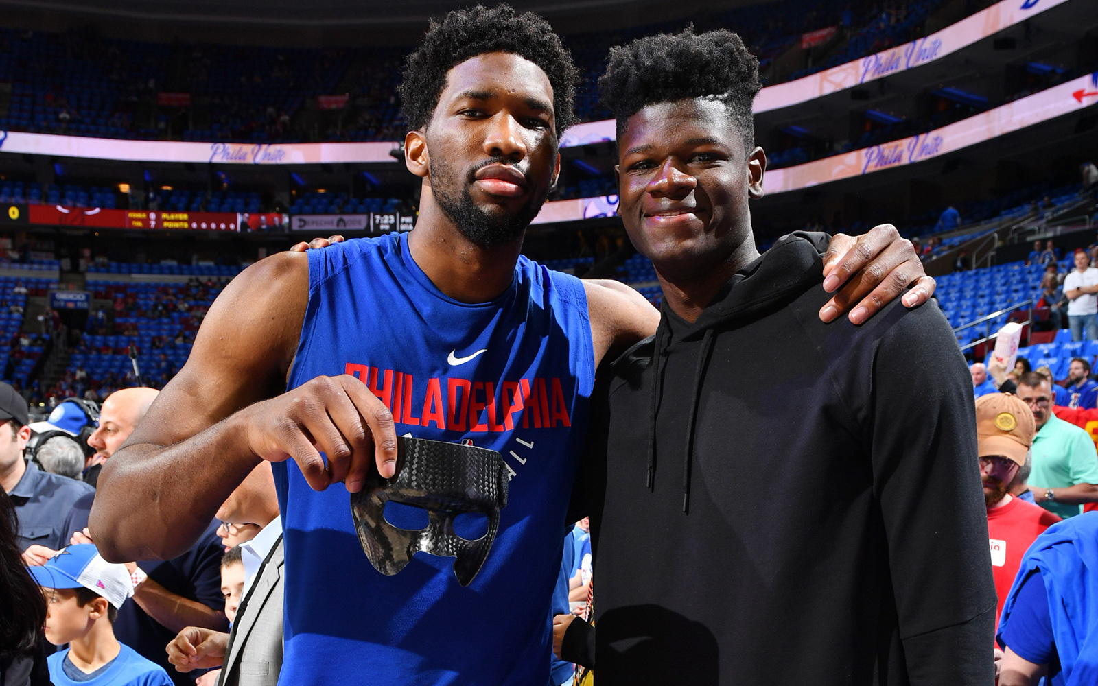 Joel Embiid and Mo Bamba