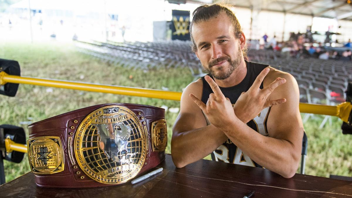 Adam Cole Wants to Defend His Title Around the Globe to Prove 'I'm the Best on the Freaking Planet' | Sports Illustrated