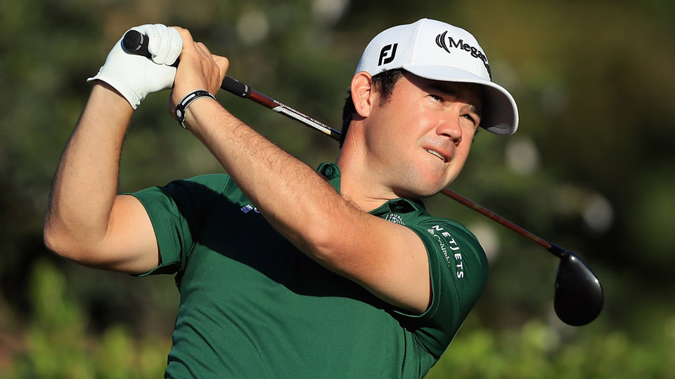 Brian Harman, pictured here earlier this year at the Sony Open, has had seven top ten finishes this season.
