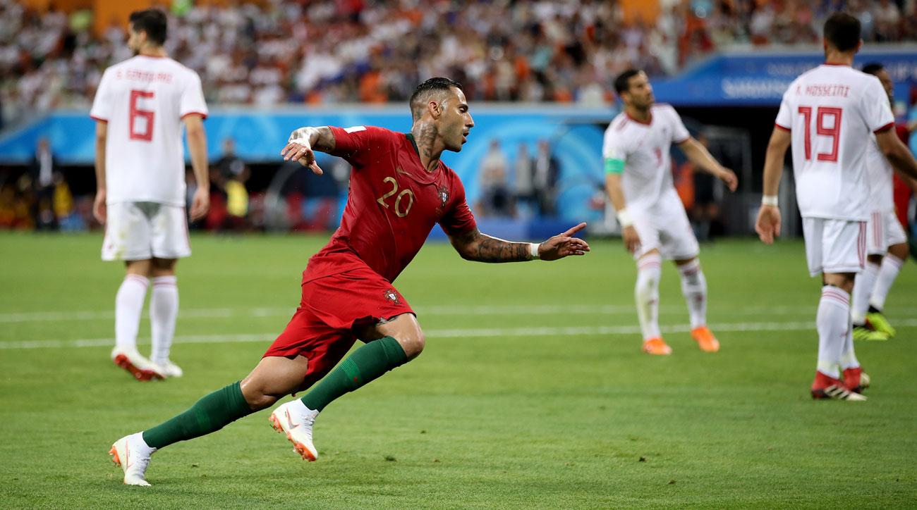 Ricardo Quaresma scores for Portugal vs. Iran