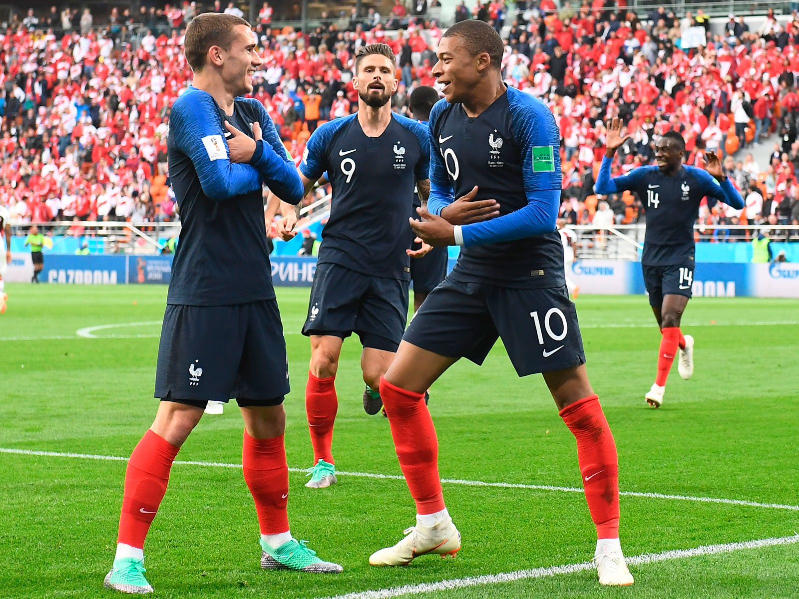 France boasts a wealth of attacking talent at the World Cup