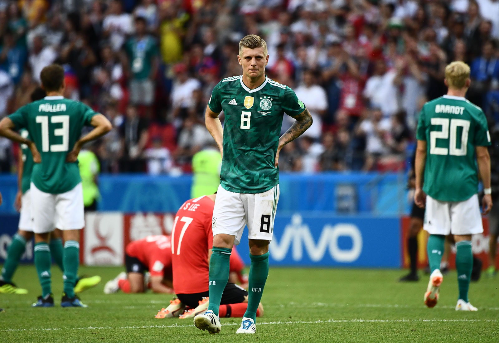 Germany crashes out of the World Cup after a loss to South Korea