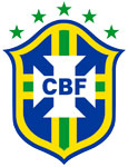 Brazil's national football crest
