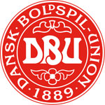 Denmark's national football crest
