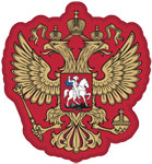 Russia's national football crest