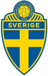 Sweden's national football crest