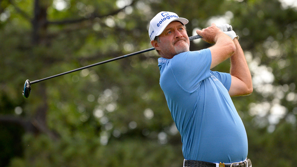 Jerry Kelly is seeking his fourth Champions tour victory, and first senior major.