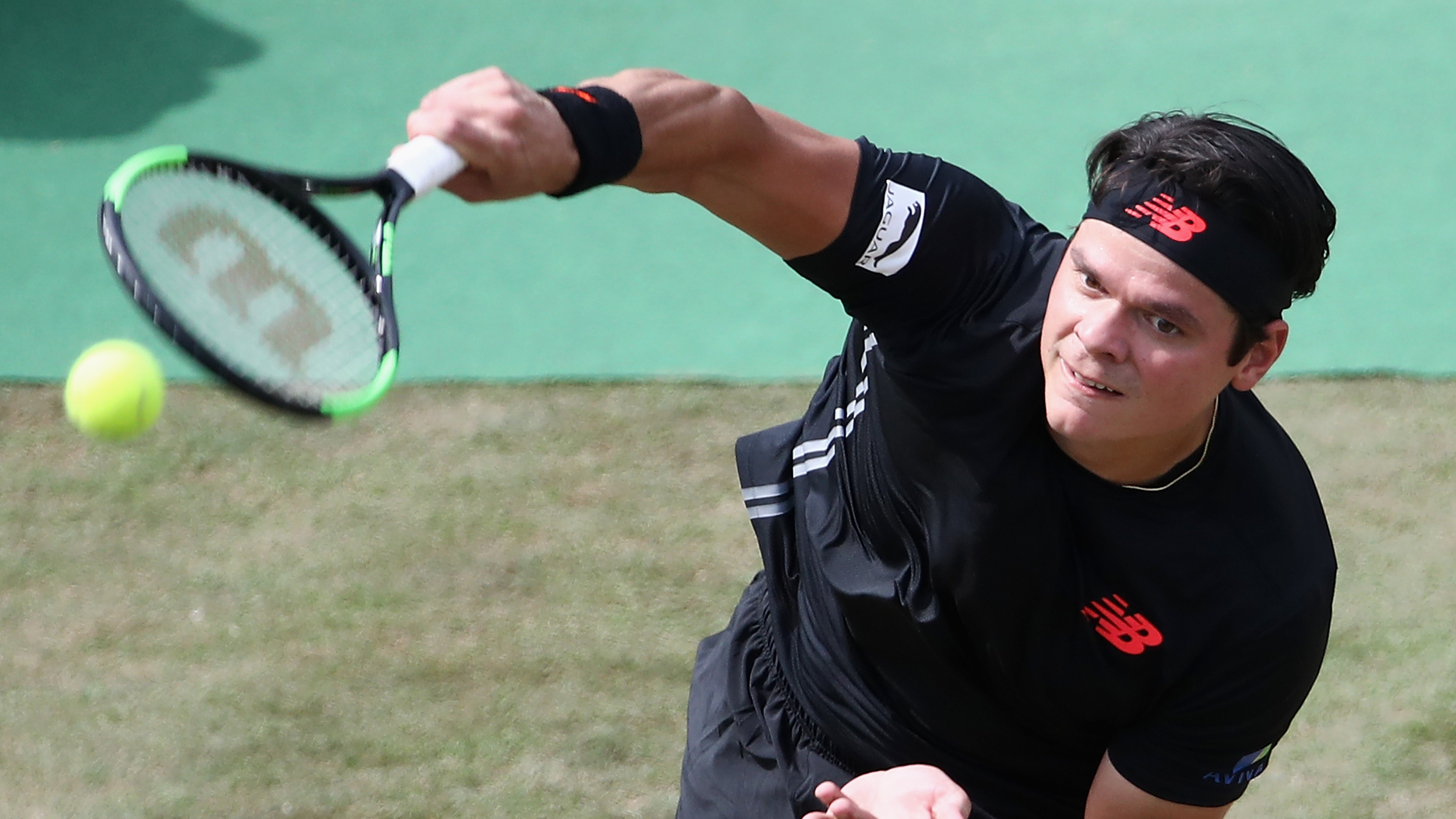 Milos Raonic Wimbledon 2018