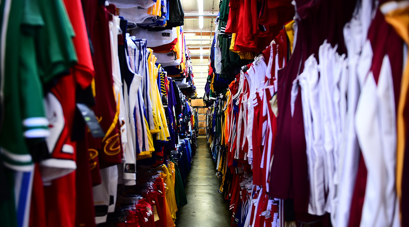 Sports Studios: Inside an L.A. sports movie memorabilia warehouse