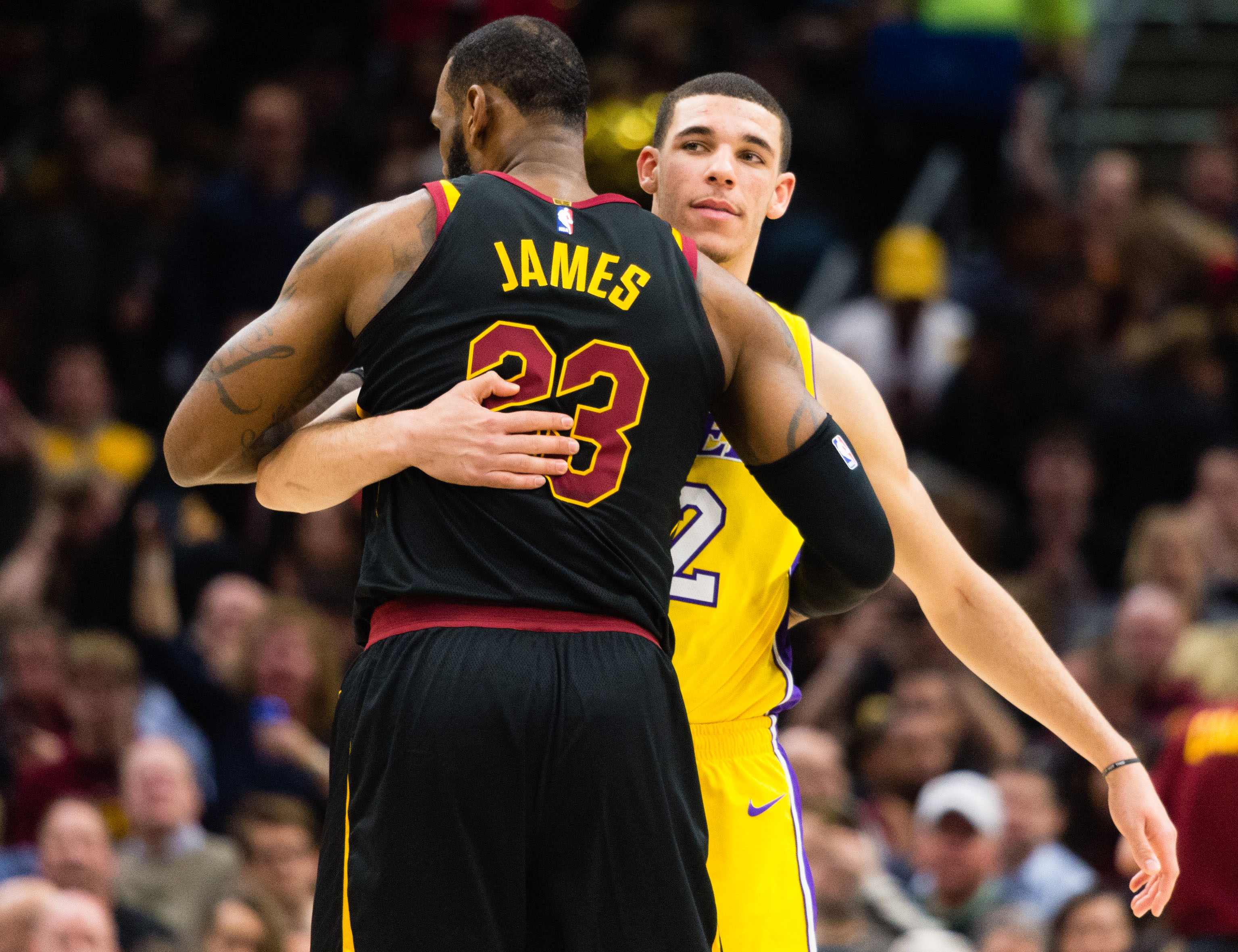 National Basketball Association  players react to LeBron James choosing the Lakers
