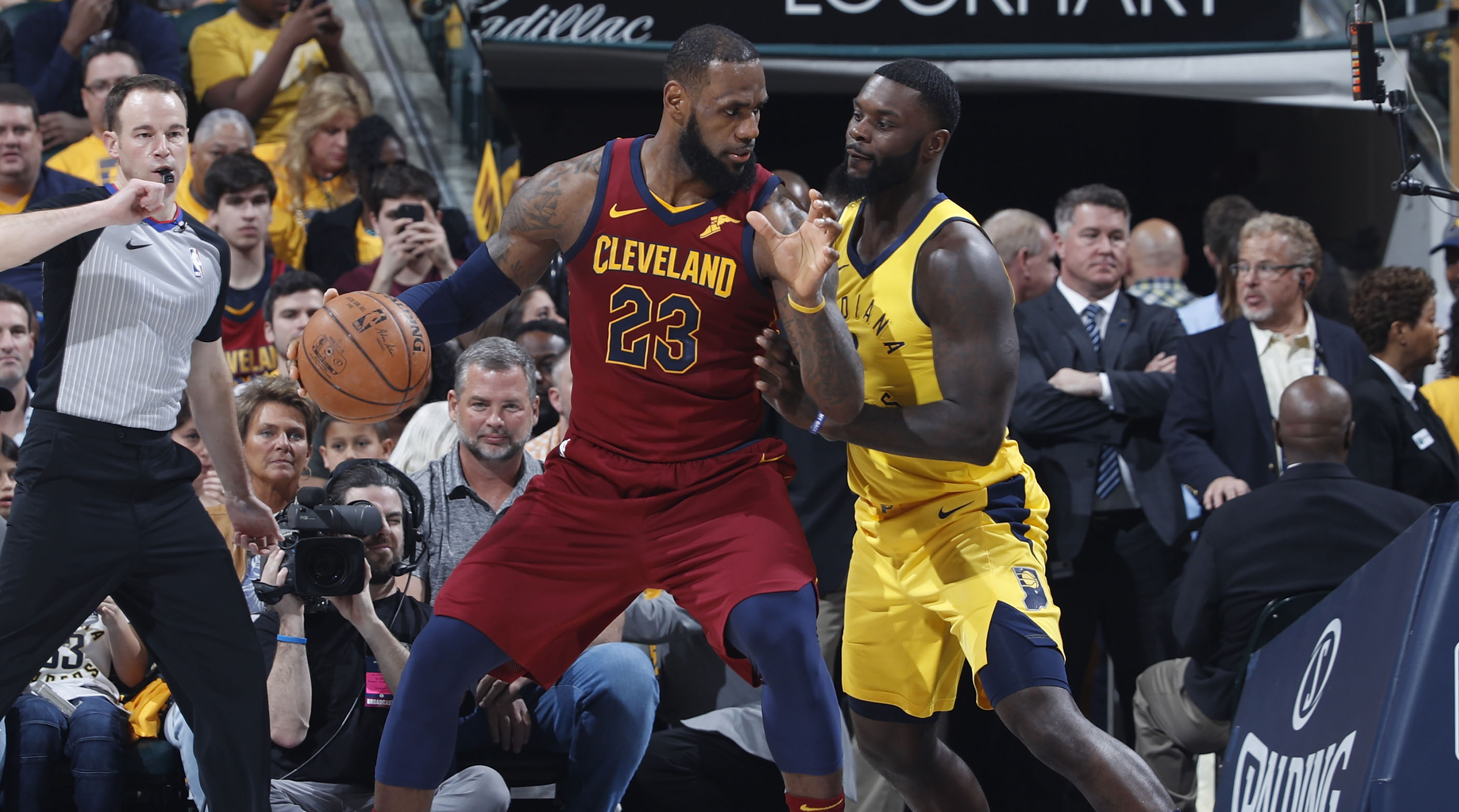2a71bb61376 Lance Stephenson and JaVale McGee join forces with LeBron