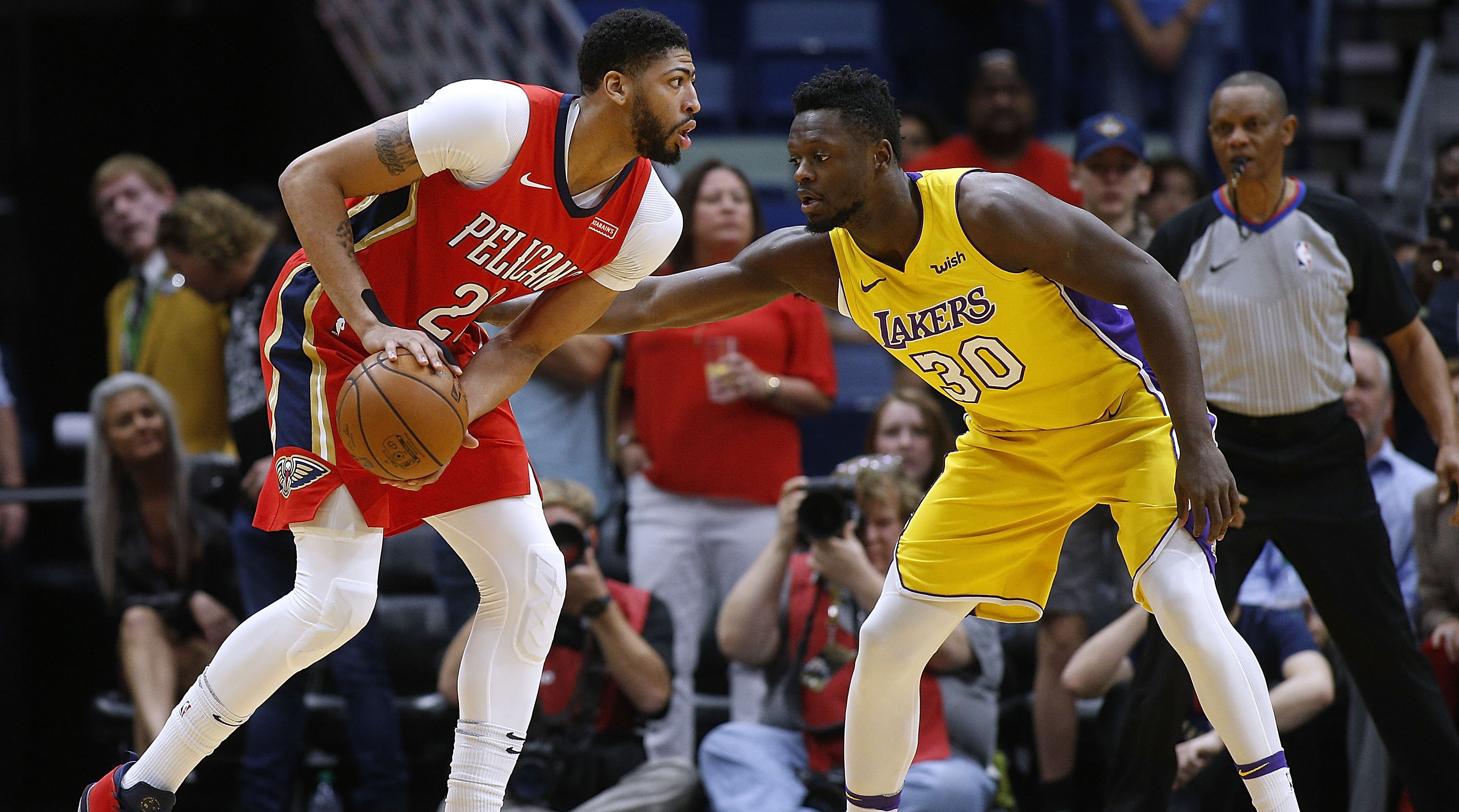 Image result for julius randle pelicans