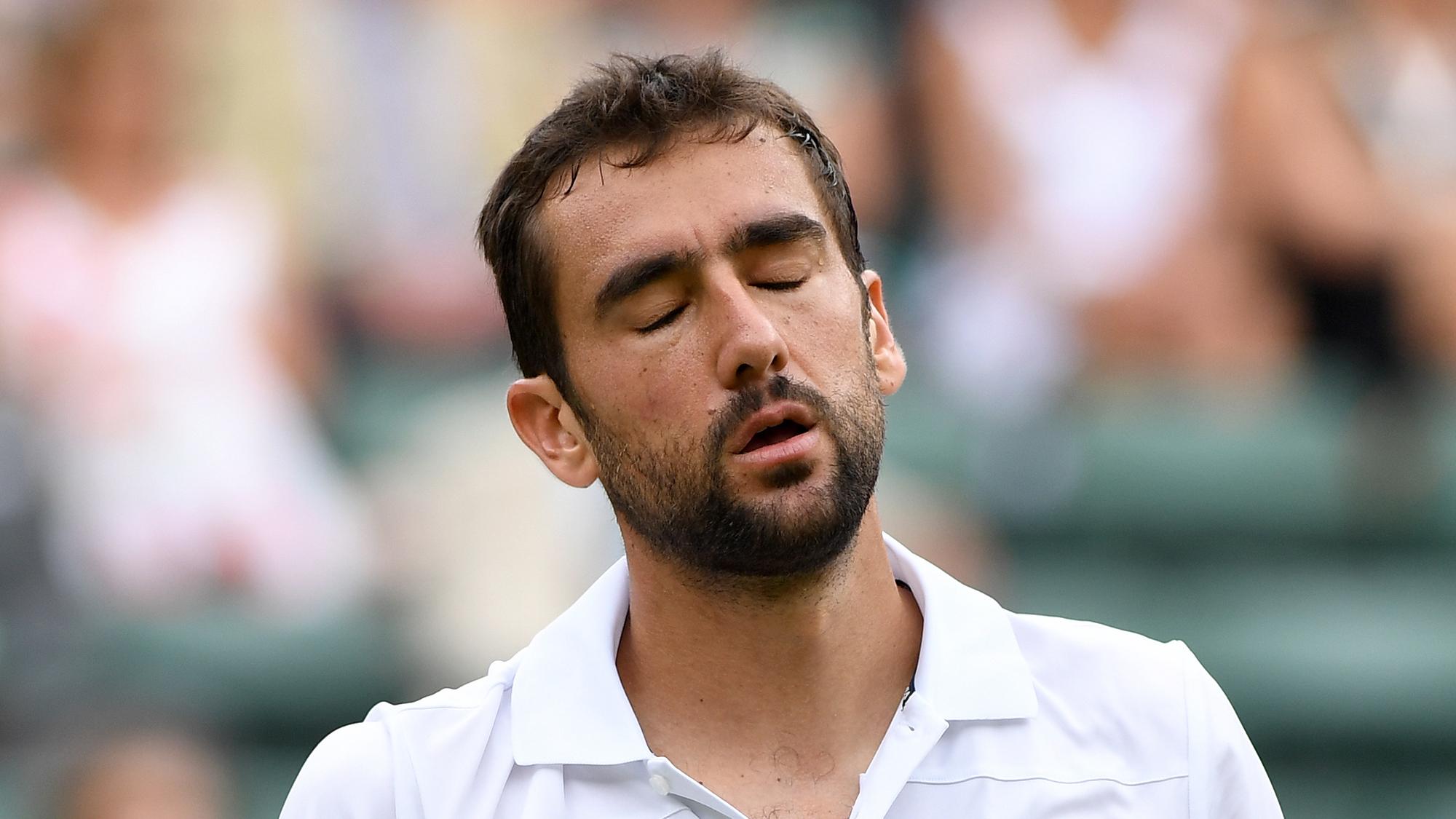 Wimbledon 2018 guido pella marin cilic