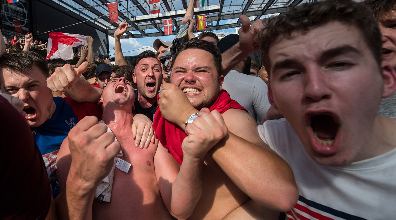 english fans, england, 2018 world cup, russia world cup