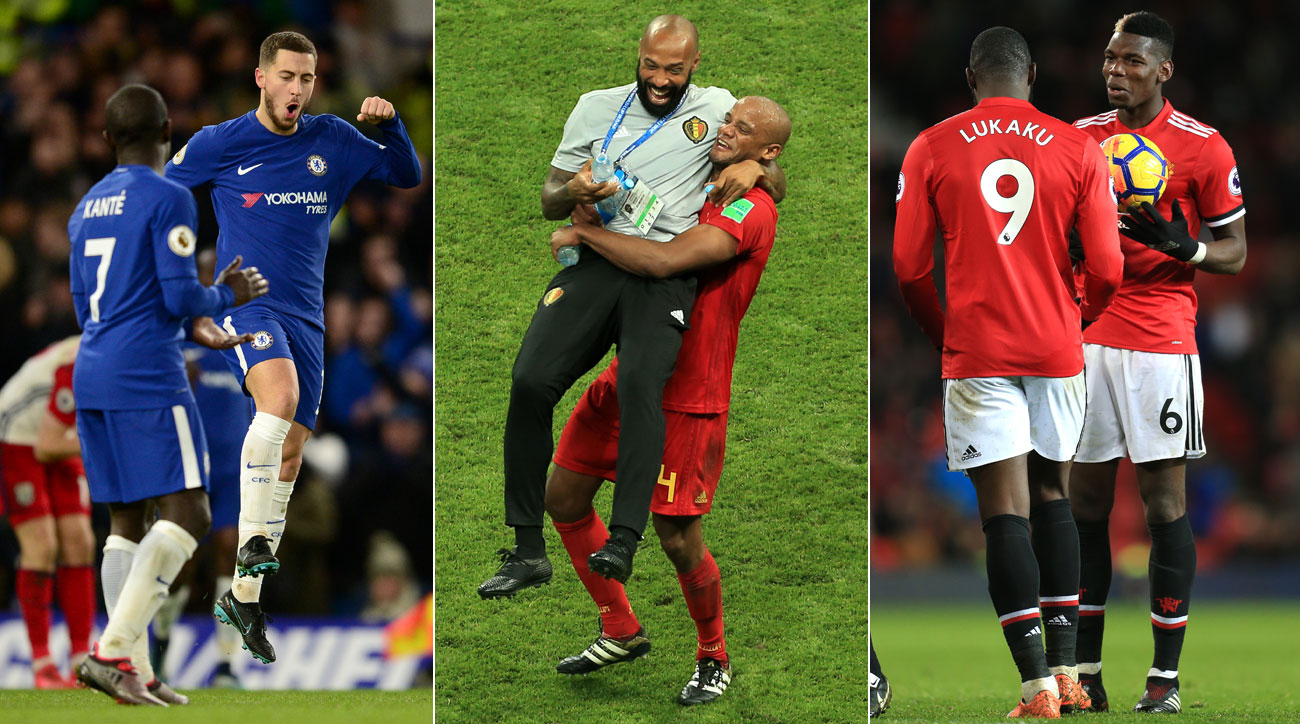France and Belgium meet in the World Cup semifinals
