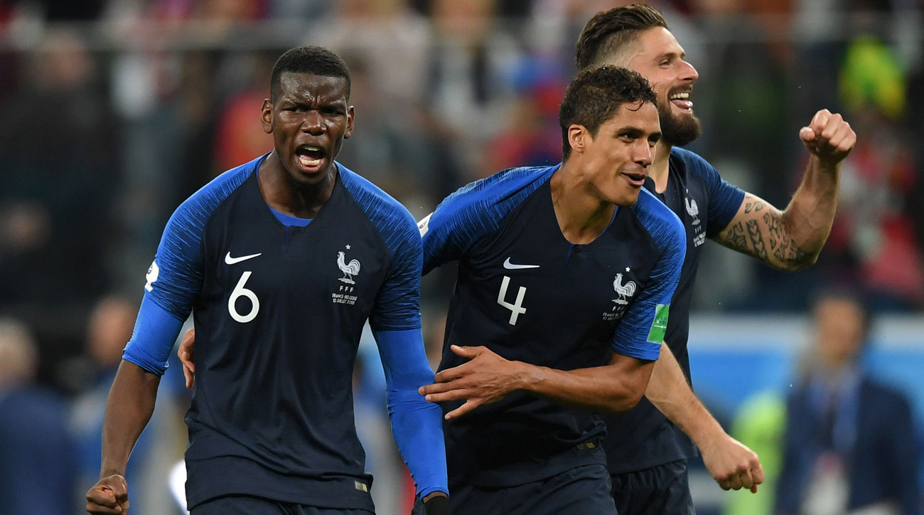 France beats Belgium to reach the World Cup final