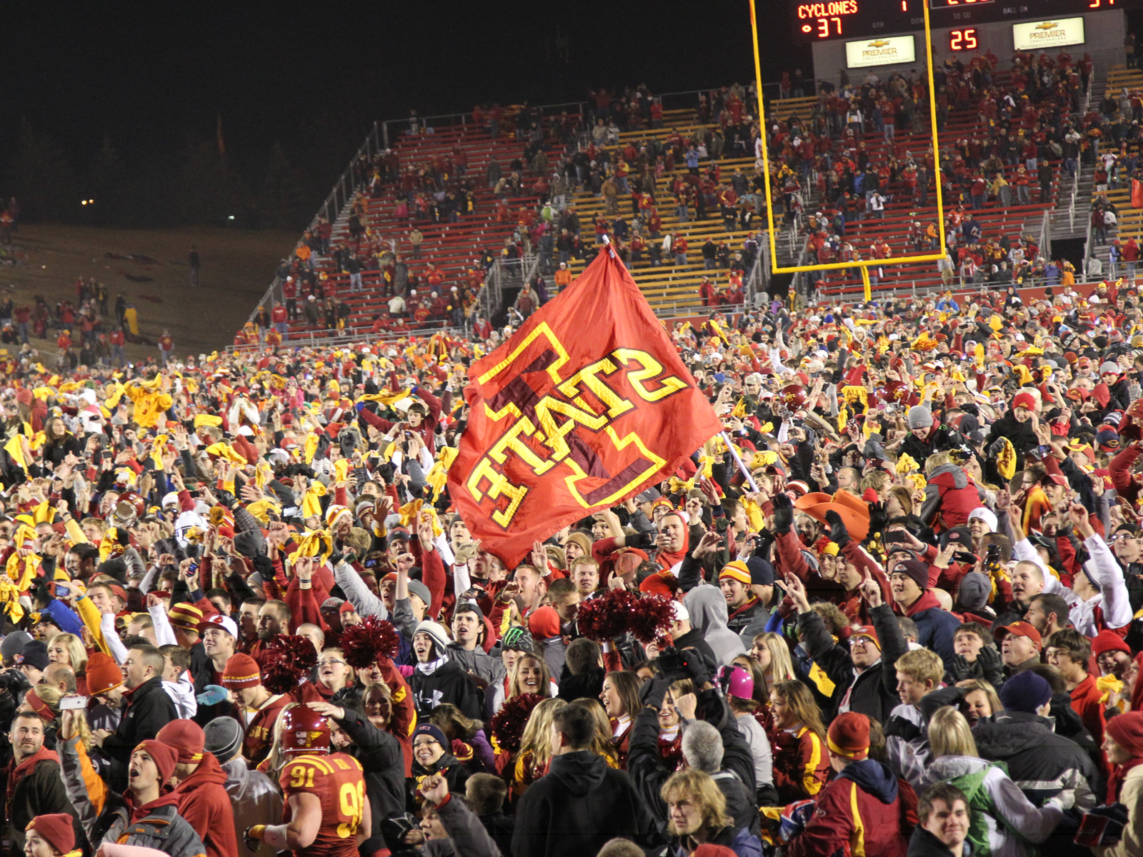Iowa State upset Oklahoma State in 2011, upturning the BCS rankings