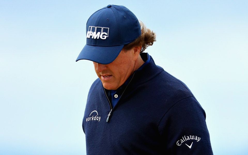 "In a post-round interview at the 2018 Scottish Open, Phil Mickelson conceded that his behavior at the U.S. Open at Shinnecock last month was ""passive aggressive."""