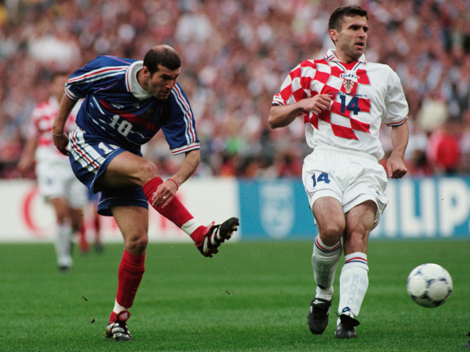 France and Croatia met in the 1998 World Cup semifinals