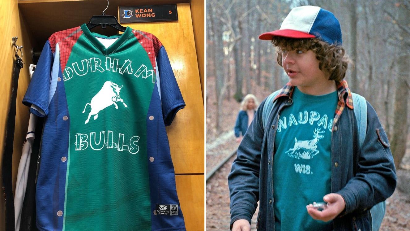 Durham Bulls baseball team wears Stranger Things jerseys