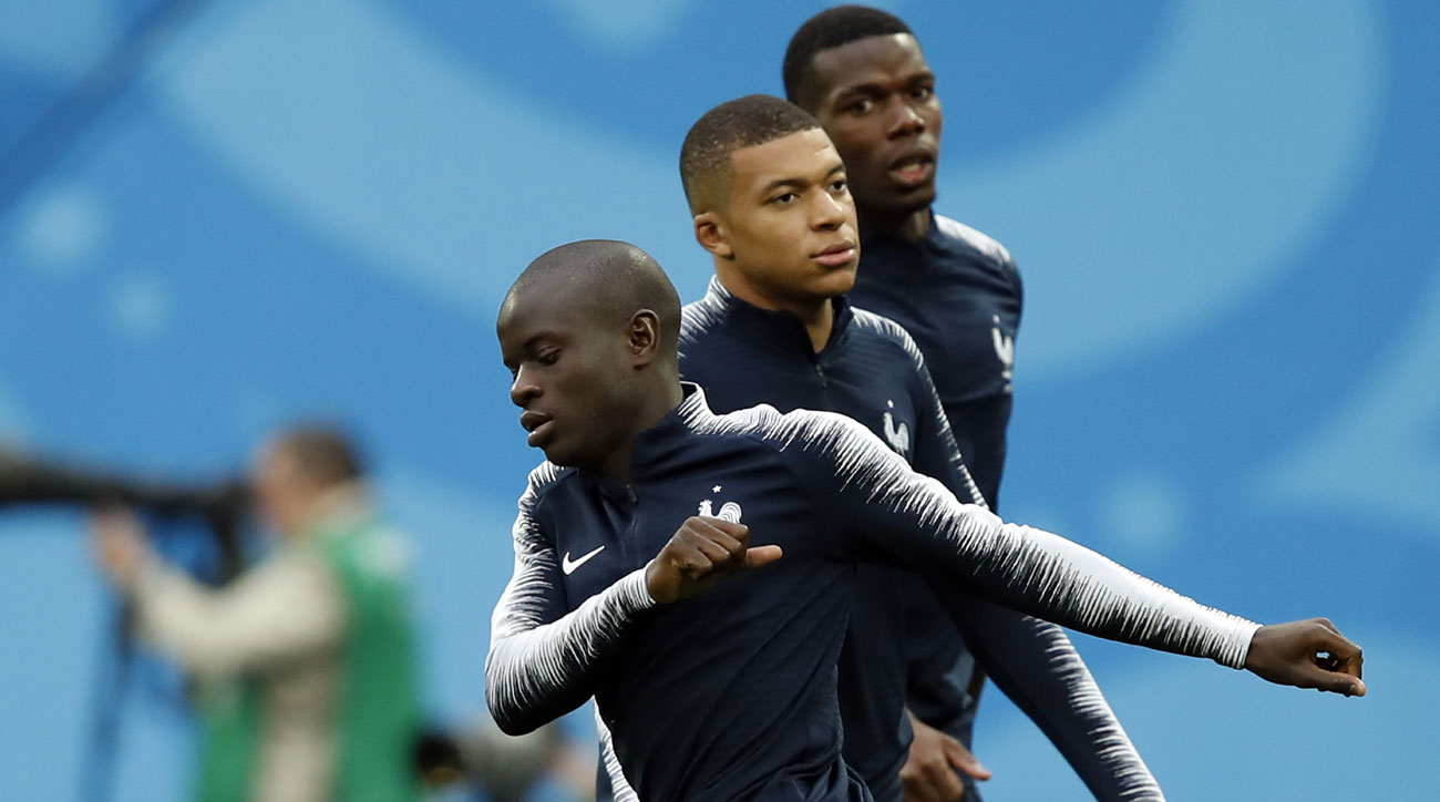 France's N'Golo Kante, Kylian Mbappe and Paul Pogba have enjoyed a great World Cup