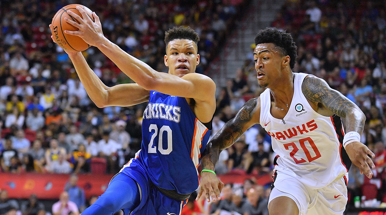 2018 NBA Summer League - Las Vegas - New York Knicks v Atlanta Hawks