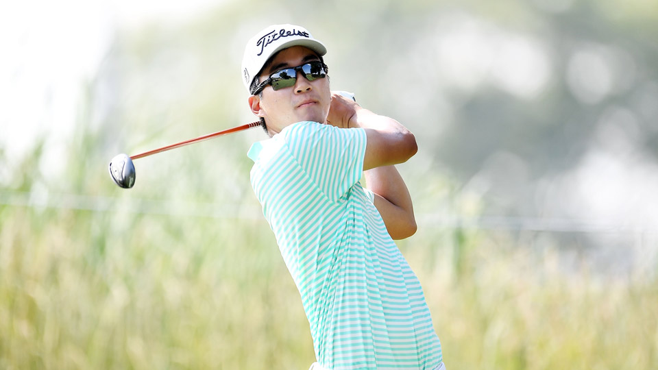 Michael Kim has one top-ten finish in his PGA Tour career thus far, but no victories.