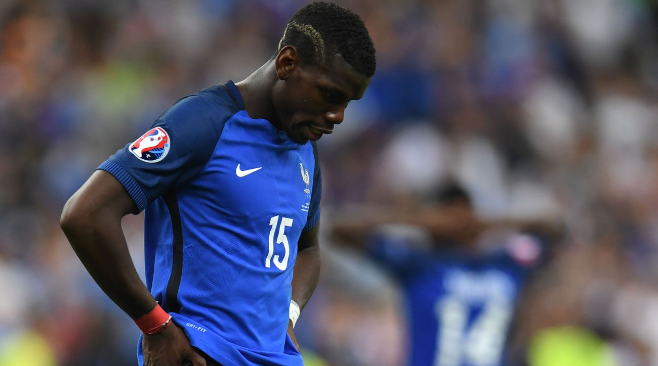 Paul Pogba and France fell to Portugal in the Euro 2016 final