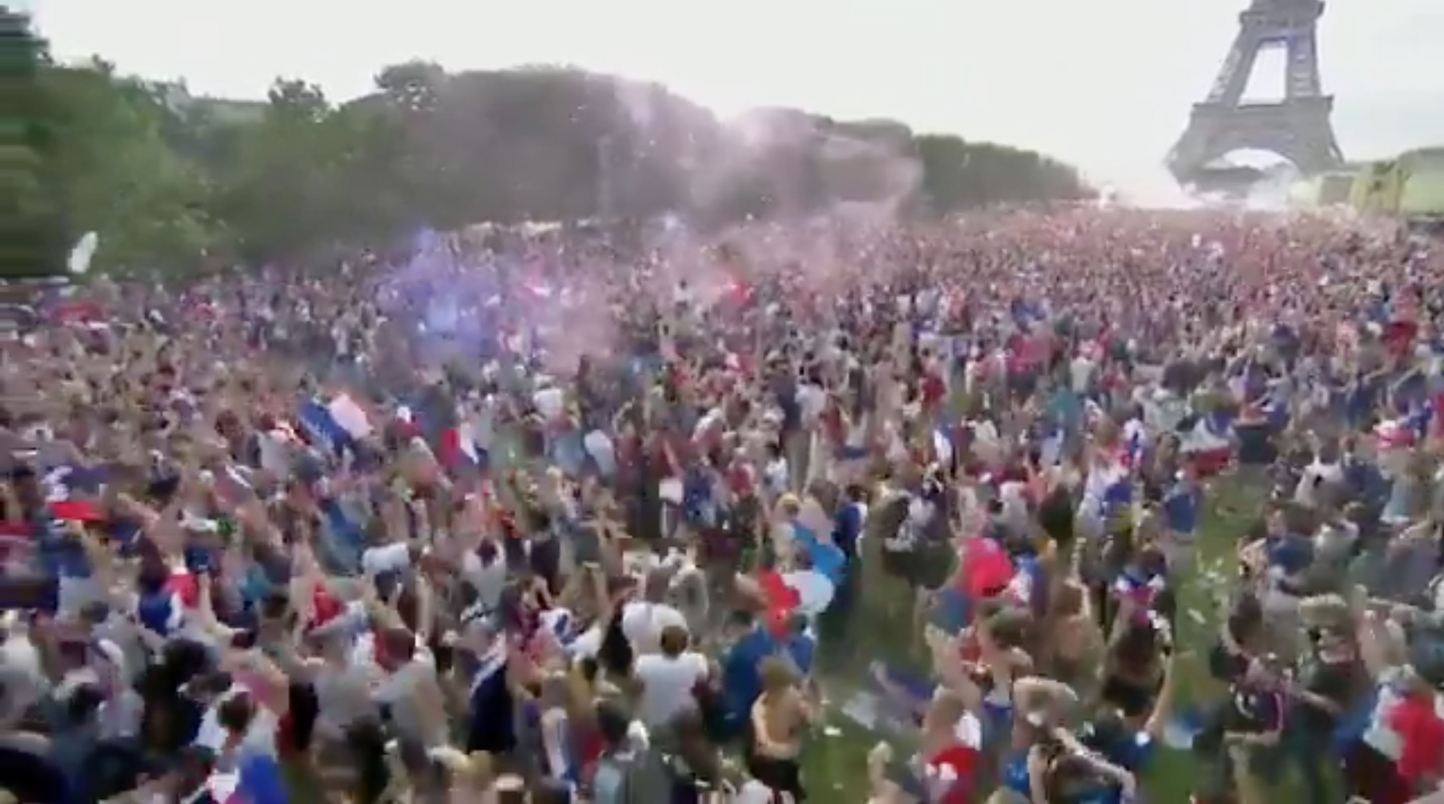 France celebrates World Cup
