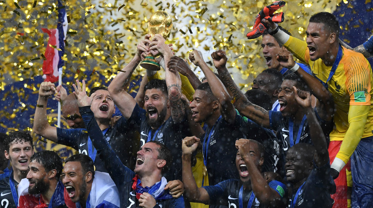 Image result for france wins world cup