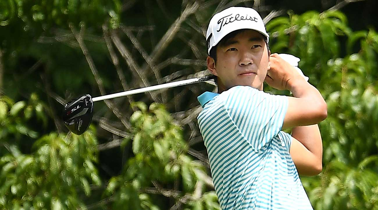 Michael Kim dominated the field en route to a huge victory at the John Deere Classic.