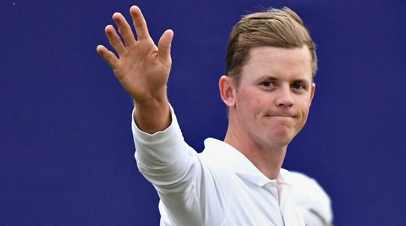 Stone's 10-under 60 secured a four-shot victory at the Scottish Open.