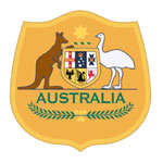 Australia's national team crest