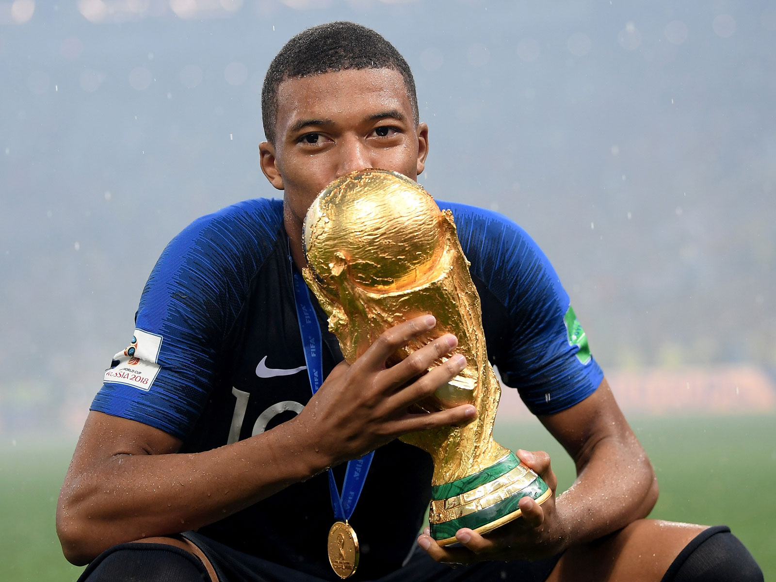 Kylian Mbappe starred for France at the World Cup