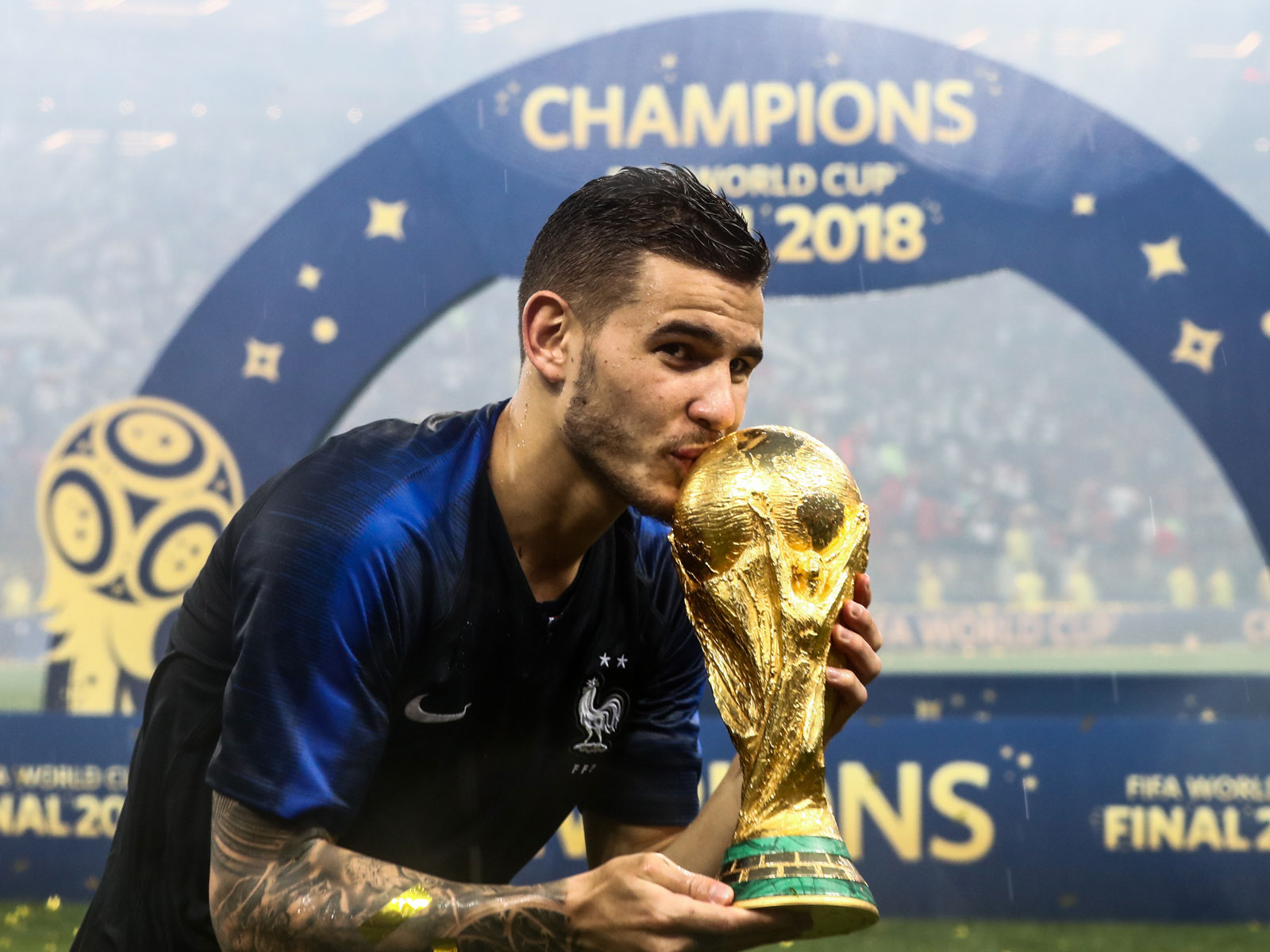 Lucas Hernandez starred for France at the World Cup