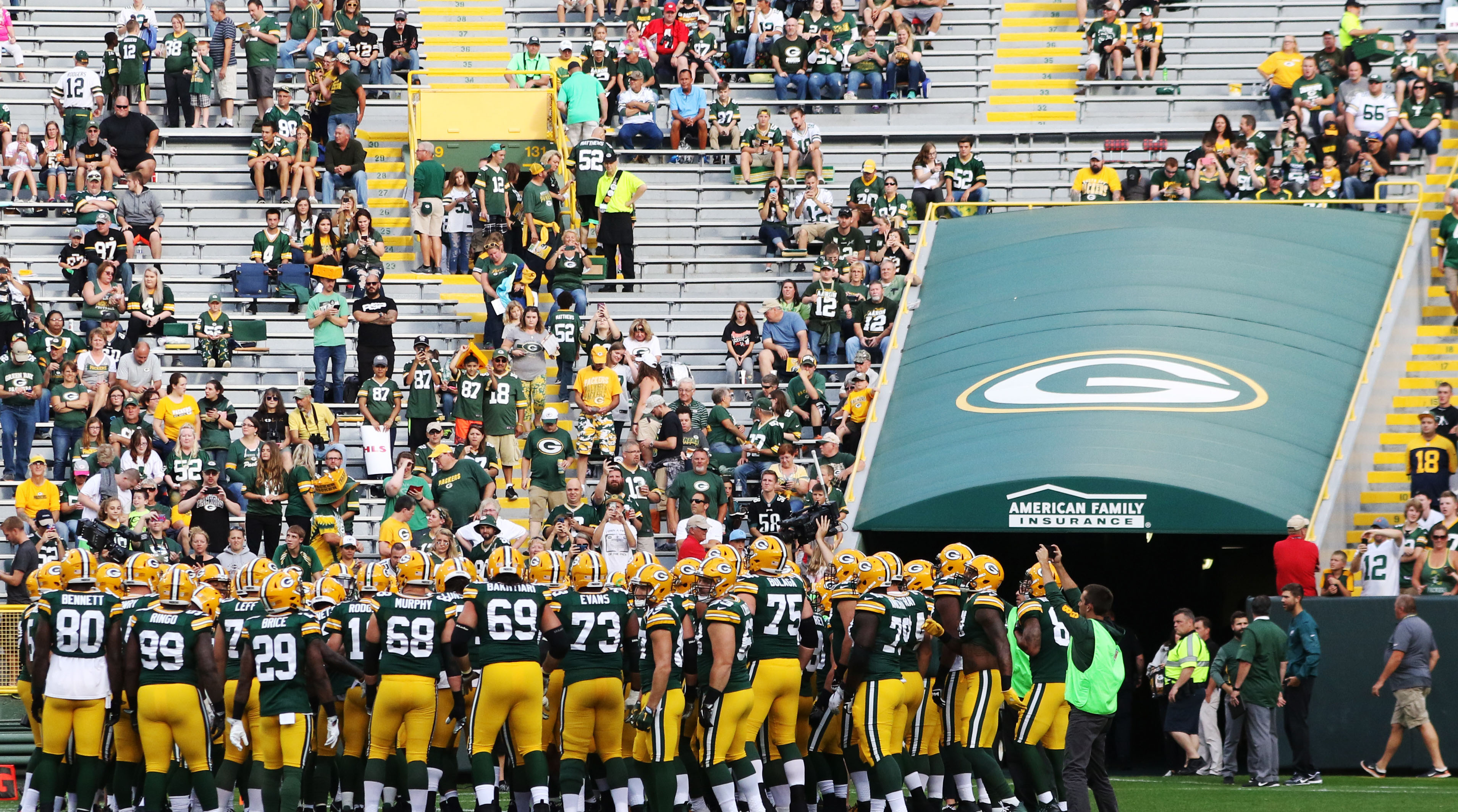 Packers books show national revenue