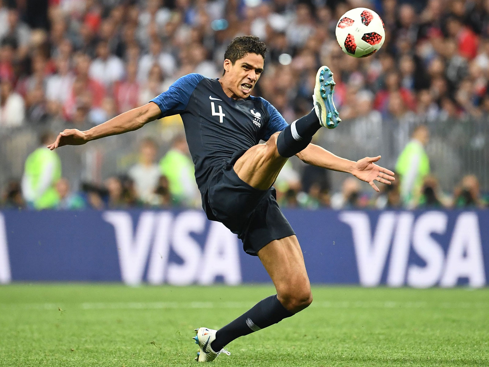 Raphael Varane was immense for France at the World Cup