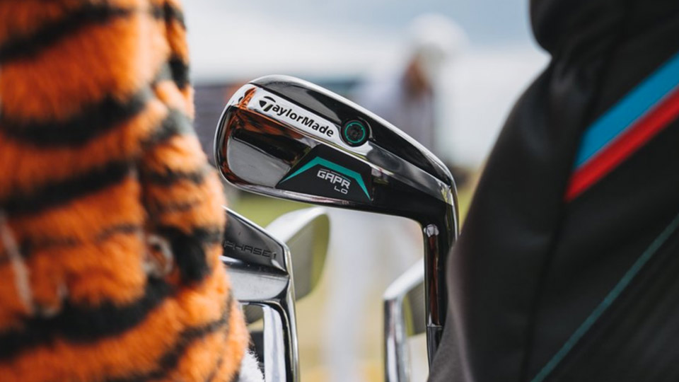 check out the new taylormade driving iron tiger woods has