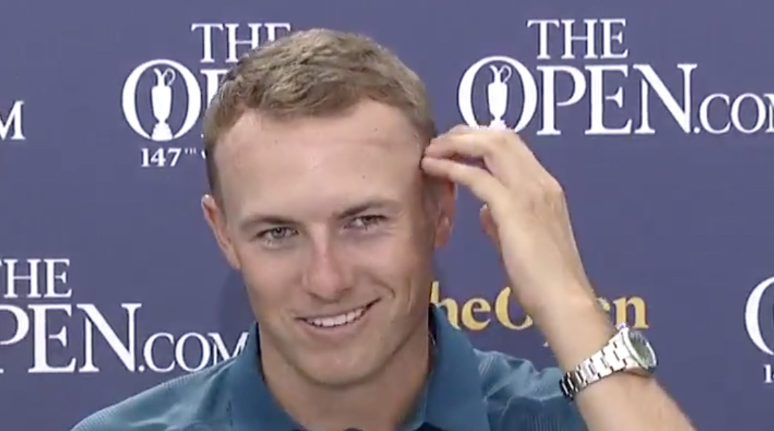 Jordan Spieth Got a Haircut in Scotland, Says Barber 'Went a Little High and Tight' | Sports Illustrated