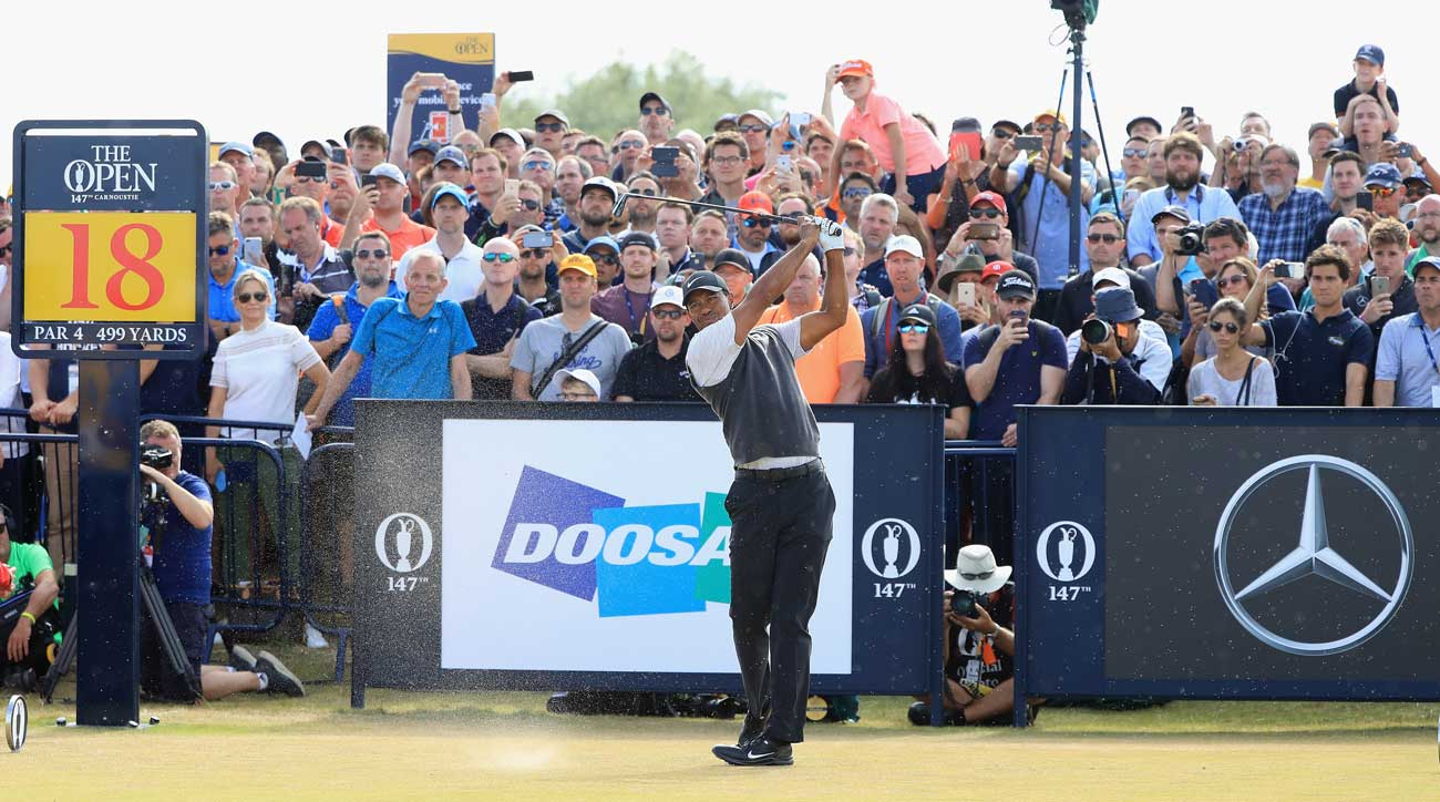 2018 british open  final round tee times  pairings for