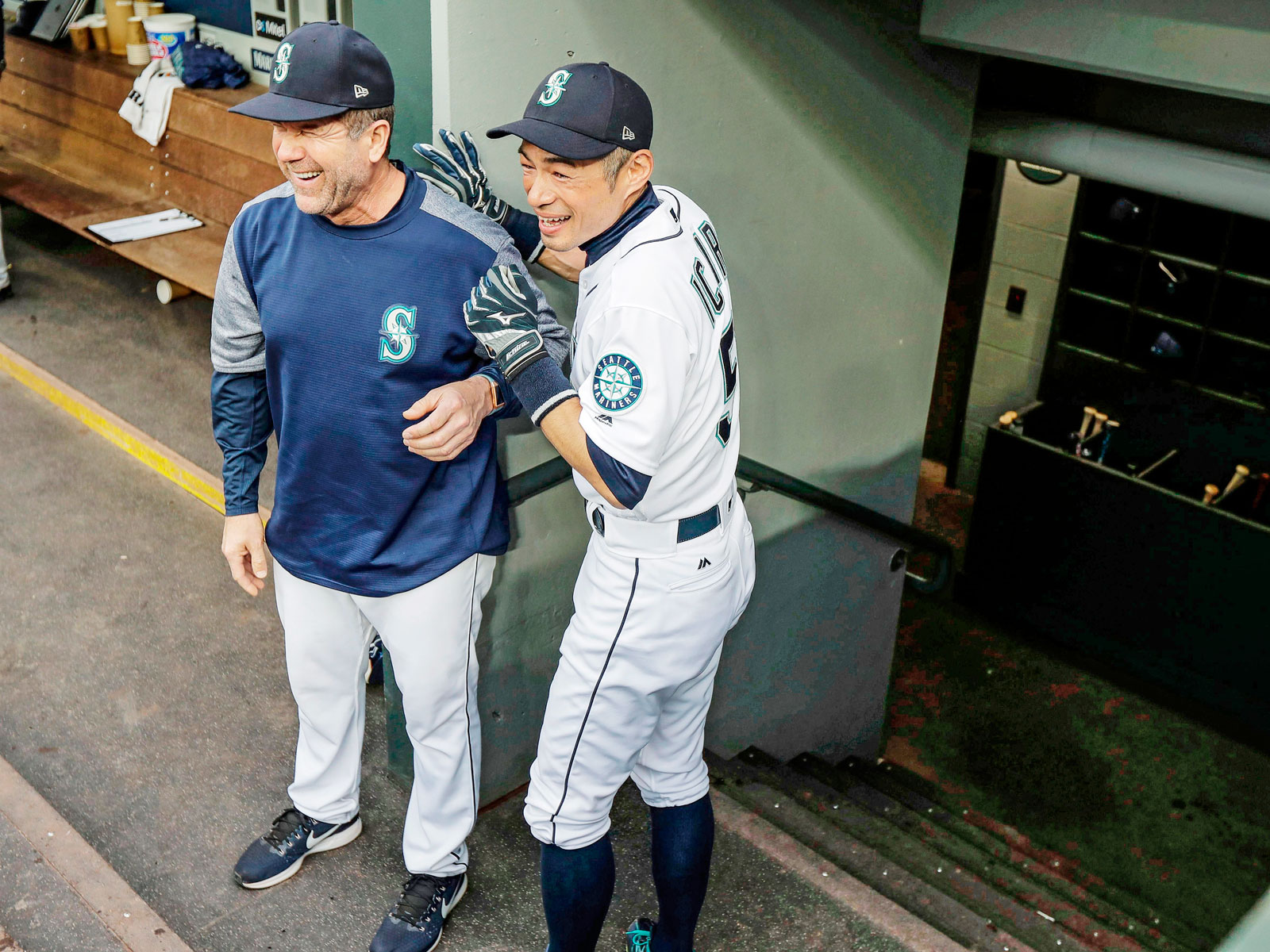 Mariners Will Seattles Unique Experiment Lead To Playoffs Ichiro Young Red Its Franchise Legends Like Martinez And Who After A Short Return The Team Earlier This Season Stayed On In Special Assistant Role
