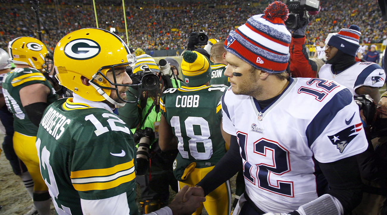 Aaron Rodgers and the Quest to Be Like Brady 5ffff78e1