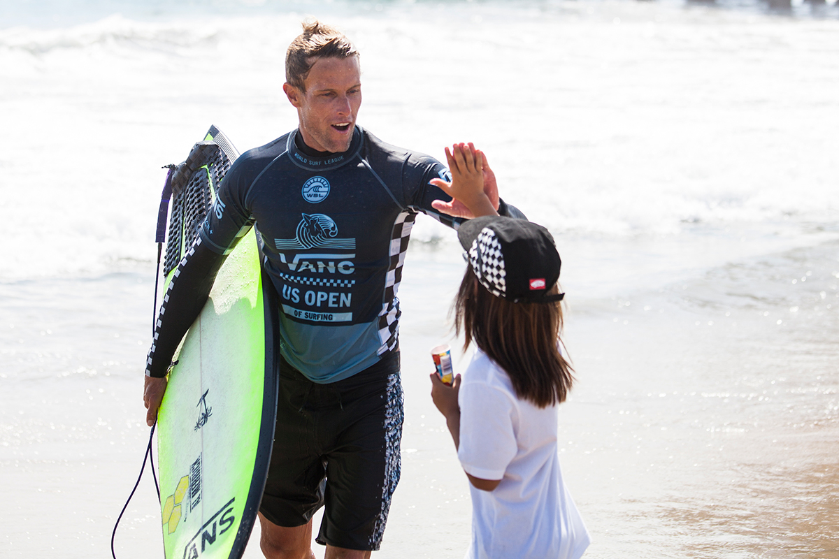 e5e563adaa Vans U.S. Open of Surfing Athletes Star On and Off the Board