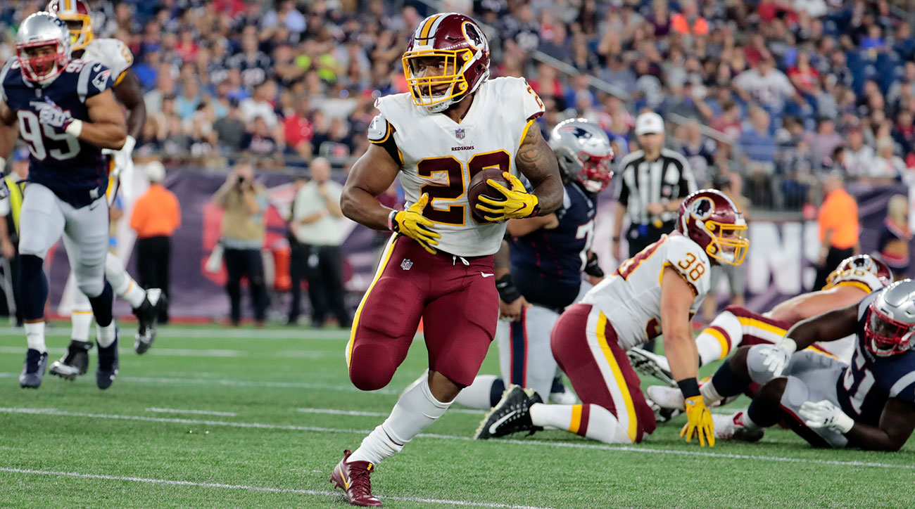 derrius guice torn acl redskins