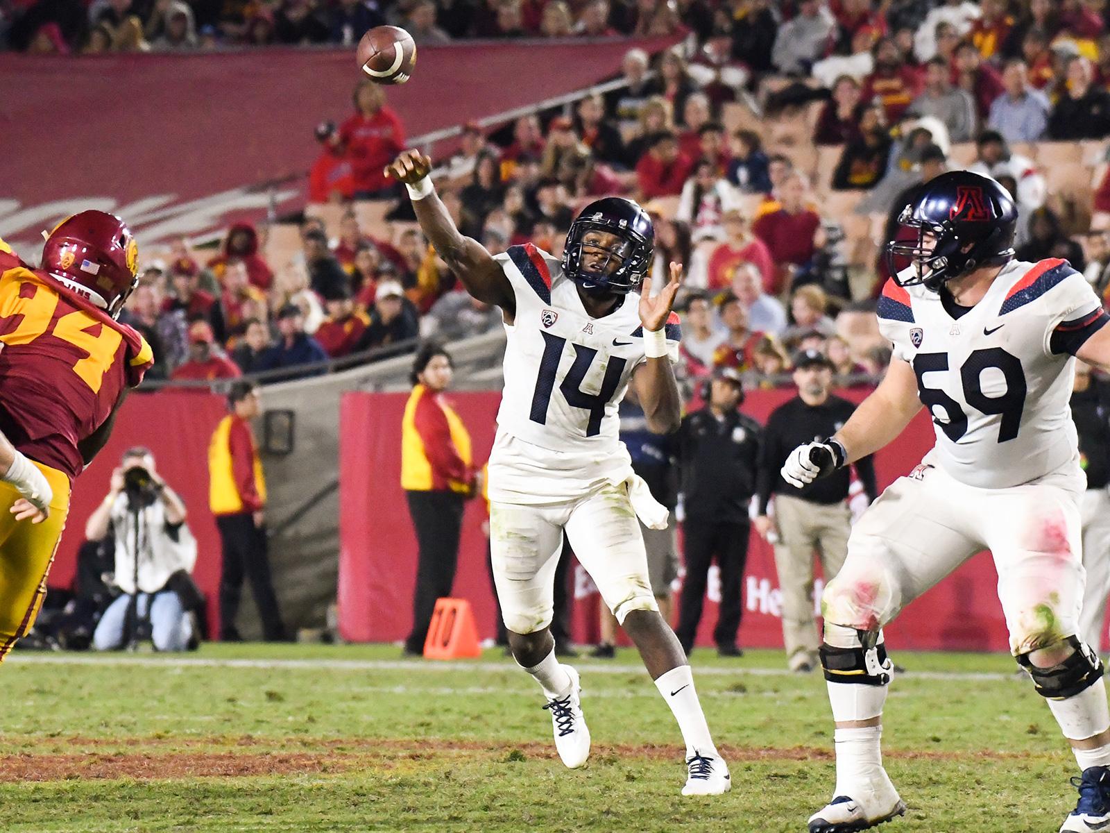 COLLEGE FOOTBALL: NOV 04 Arizona at USC